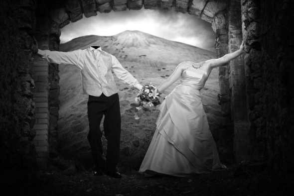 Le mariage de l'homme sans tête