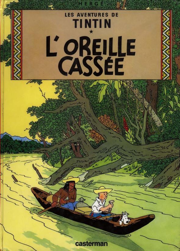 """BD:  couverture  """"l'Oreille cassée"""""""