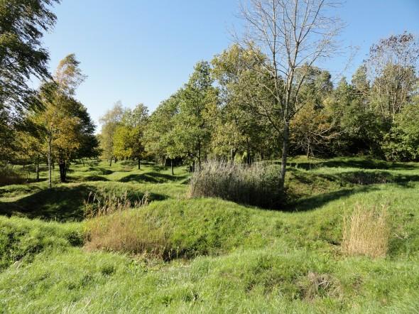 Thiaumont  Douaumont  trous obus