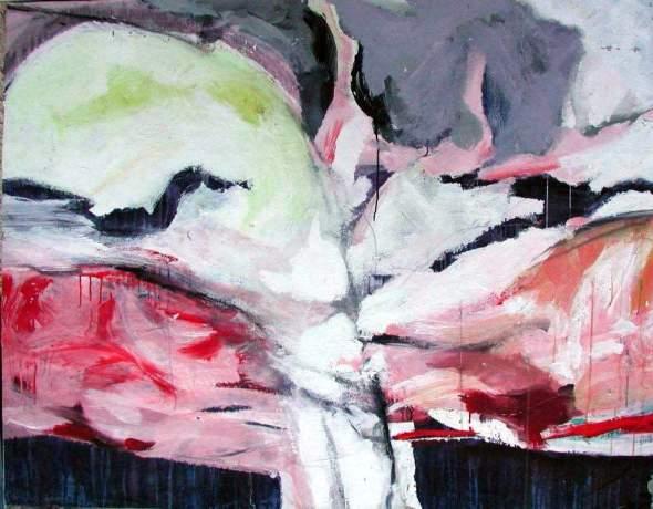 "peinture perso:  "" Grand  arbre""   1979"