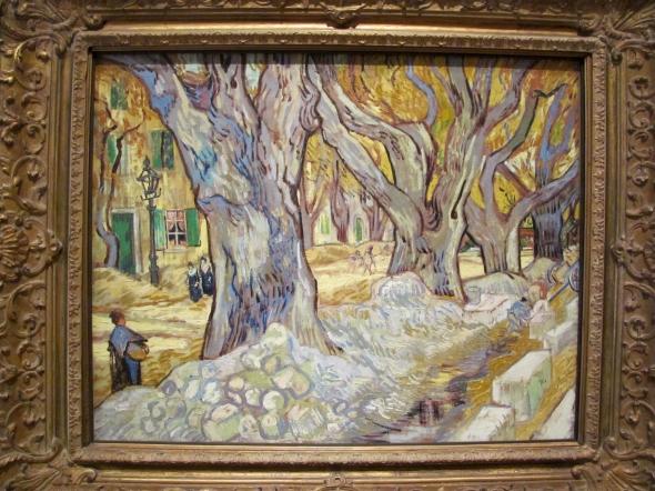 peinture: Van Gogh,  Cleveland museum of Art  USA