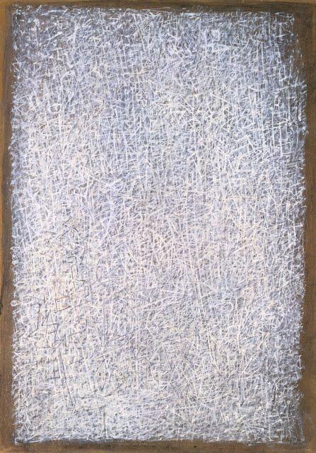 Peinture: Mark Tobey - Musée Guggenheim  NYC