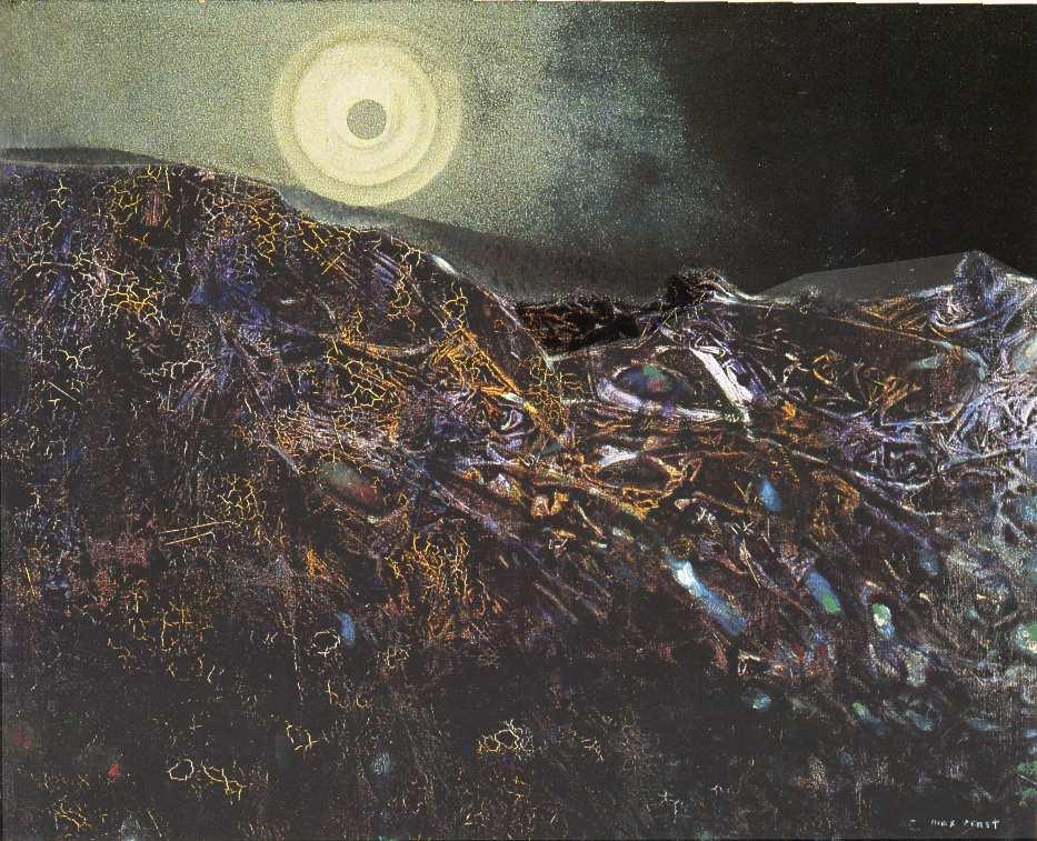 peinture:   Max Ernst:  le XXè siècle  -  1955