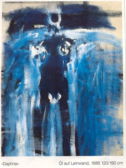 peinture: Suzana  Obrecht..  Daphne