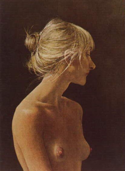 peinture: Andrew Wyeth - nu