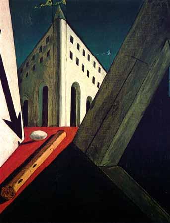 peinture  Giorgio de Chirico