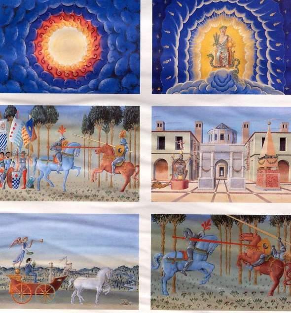 miniatures médiévales;  Exposition universelle  Seville