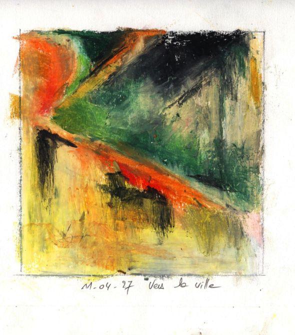 peinture - M Deroi