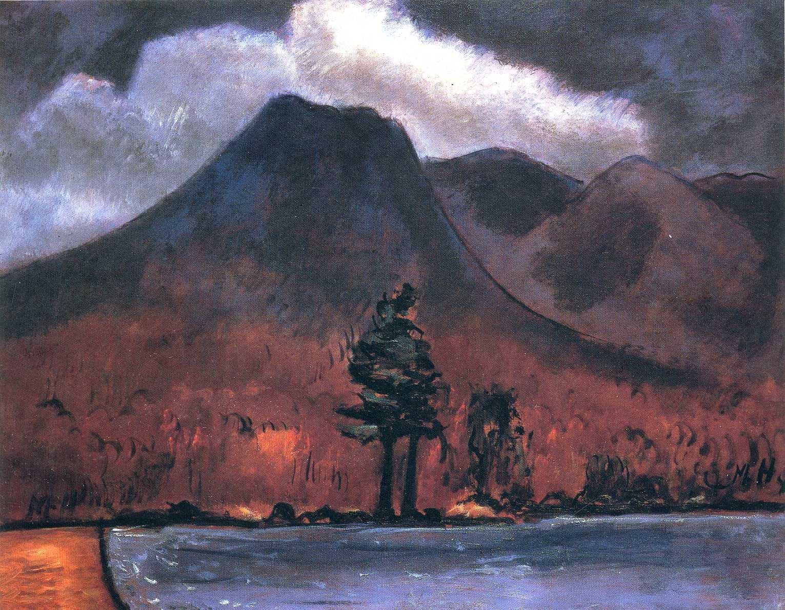 peinture  : Marsden Hartley