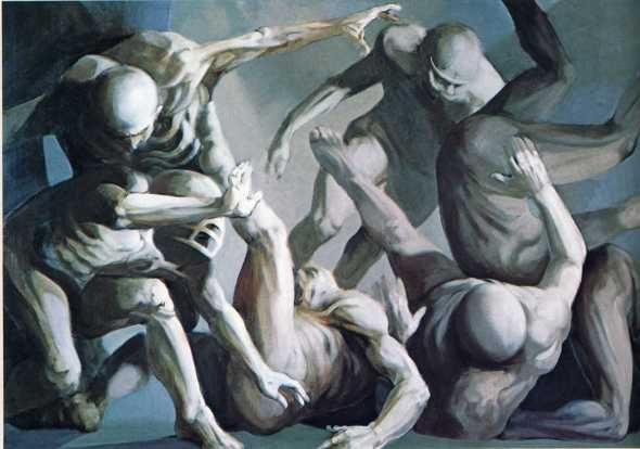 peinture: artiste américain ( non identifié)