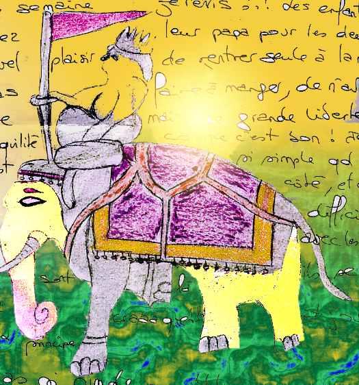 image - travail perso sur dessin de Fabienne Fontaine