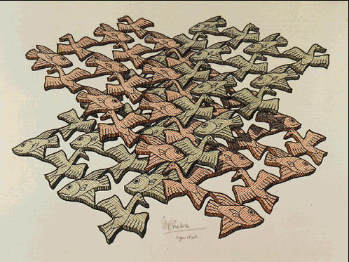 dessin: MC Escher