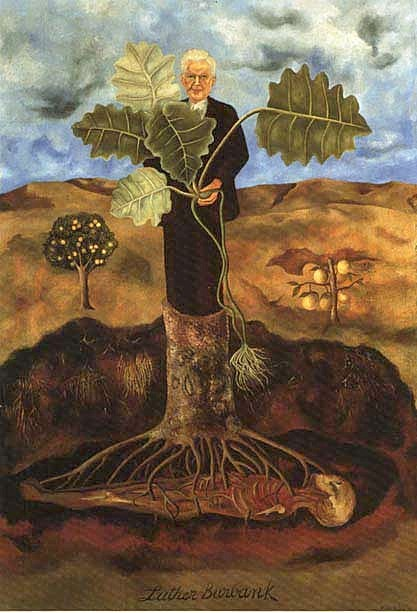 peinture: Frida Kahlo Portrait of Luther Burbank 1931