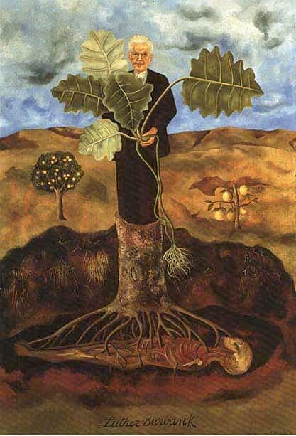peinture: Frida Kahlo Portrait of Luther Burbank 1931
