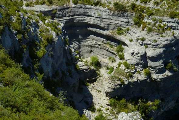 cirque de rocs. Montbrun, vallée du Tarn