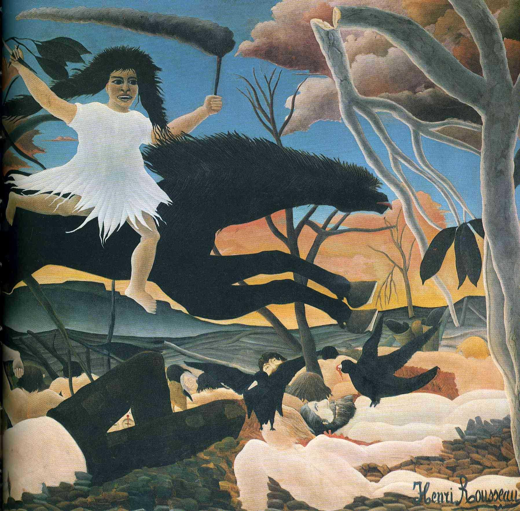 peinture: Henri Rousseau ( le douanier)