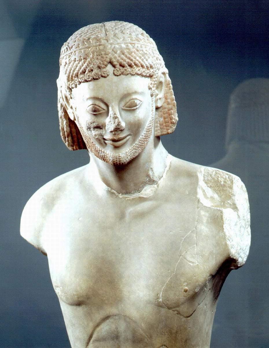 sculpture;  art étrusque