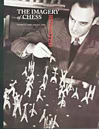 1944 Noguchi Chess Set; Julian Levy is playing
