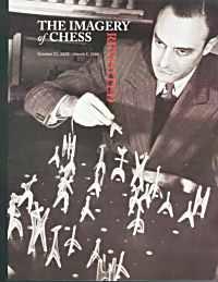1944 Noguchi Chess Set; Julian Levy is playing