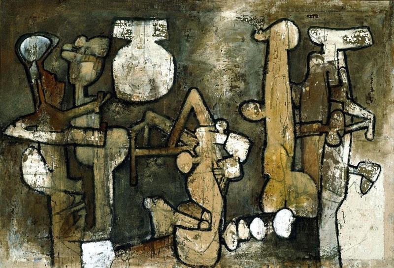 peinture: Roberto Matta 1962  malitte.