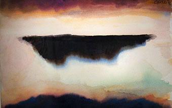 peinture:  Jules Olitski