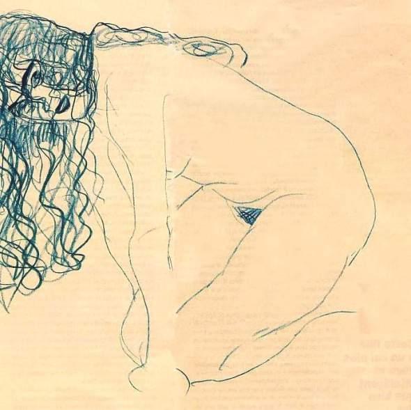 dessin: Gustave Klimt