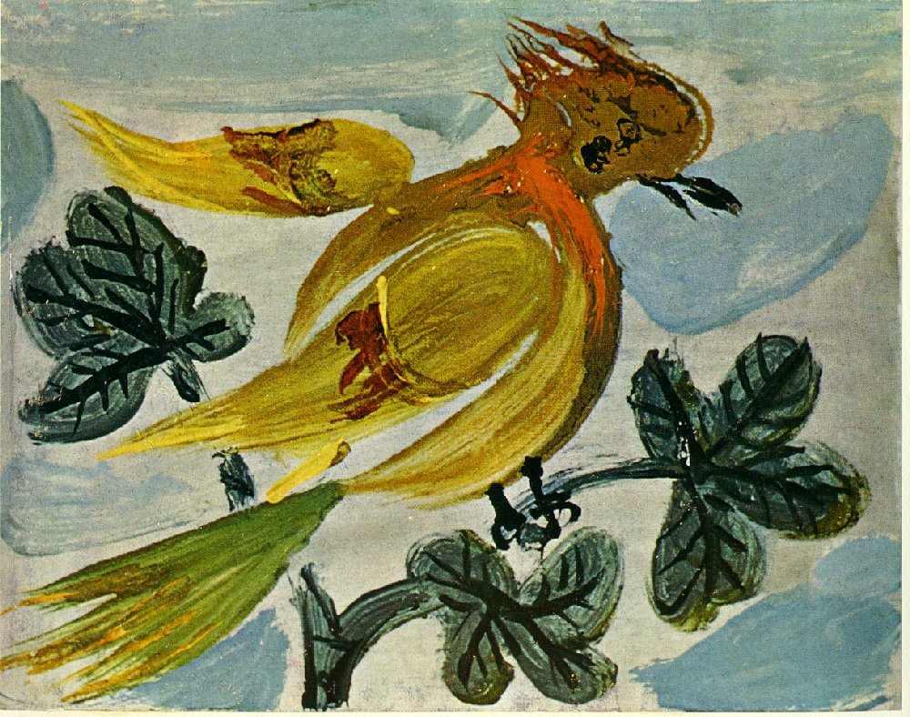 peinture: P Picasso - sans titre 01-1939