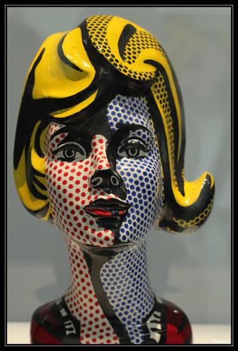 photo Yannick LeGoff: Lichtenstein,  tête à l'ombre bleue