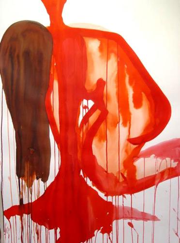 peinture: Isabelle Levenez