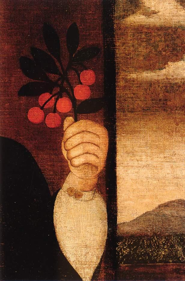 art: détail de peinture de  Peter Vanderlyn  1730
