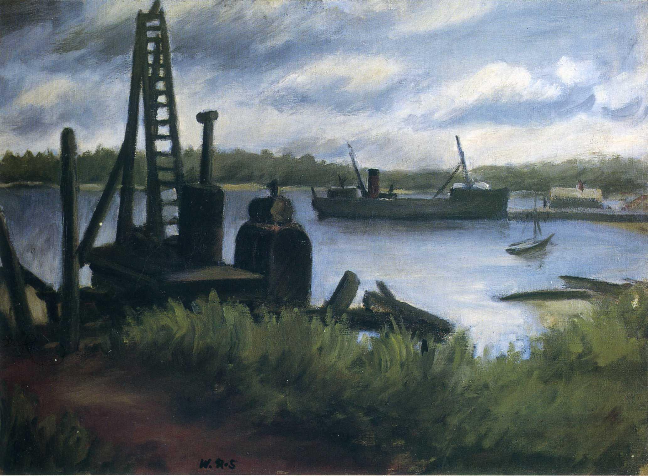 peinture  Wallace Hendon Smith