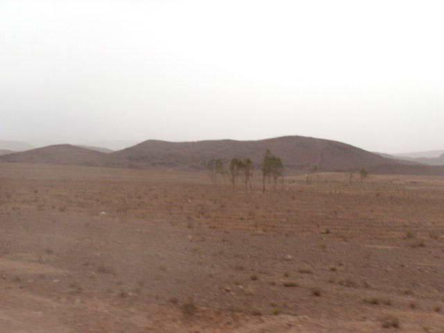 photo perso -  route de Ouazazate Maroc