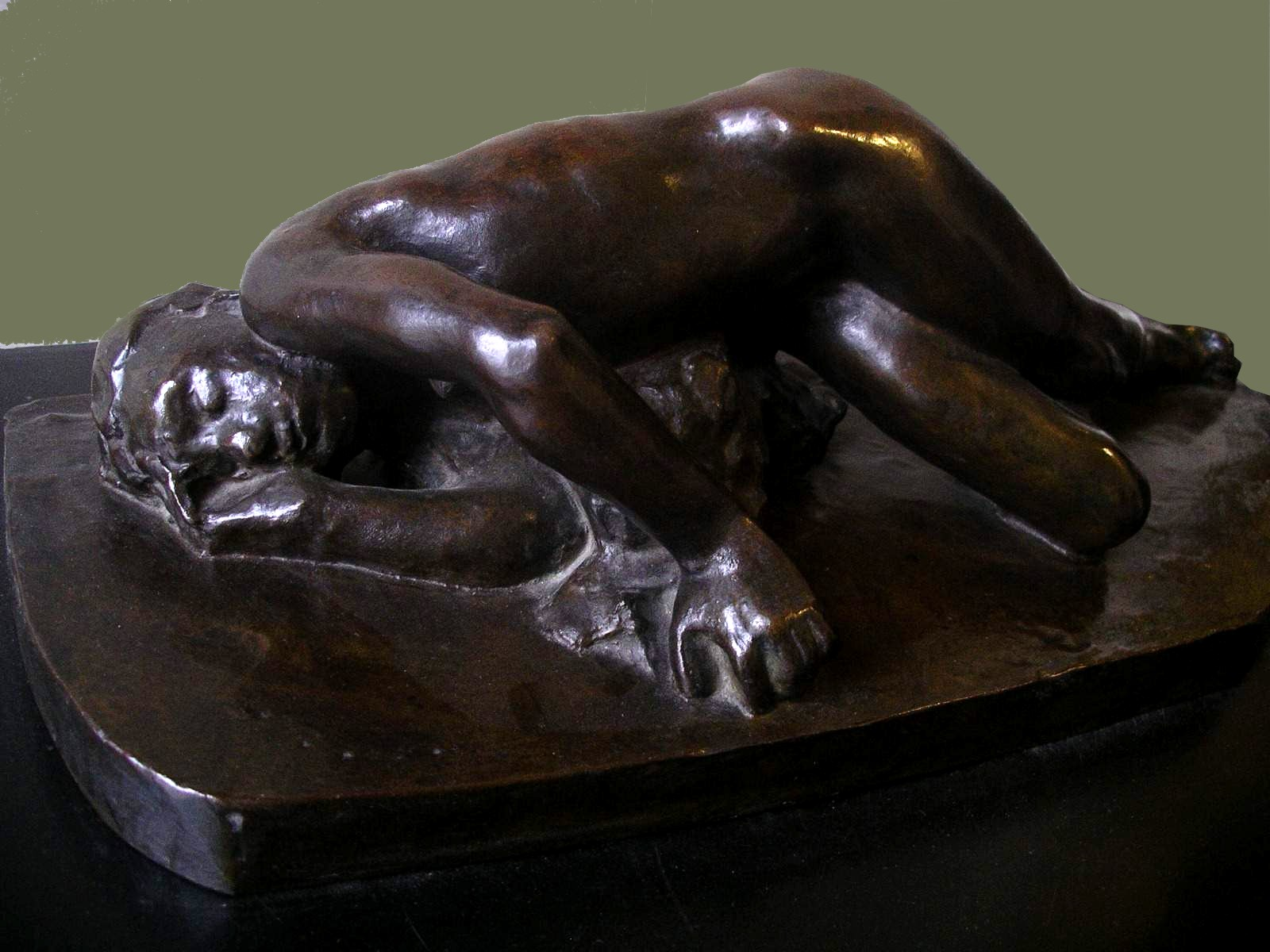 photo perso - Auguste Rodin: le sommeil