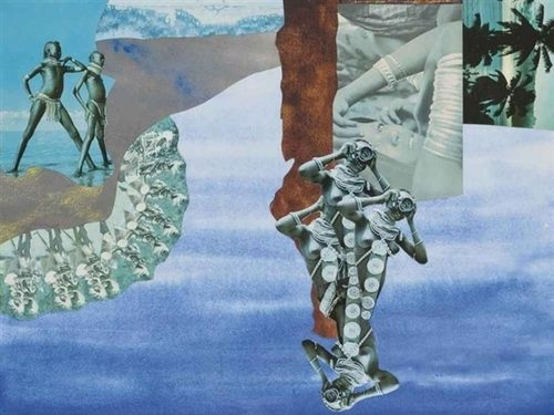 collage - Sir Roland Penrose