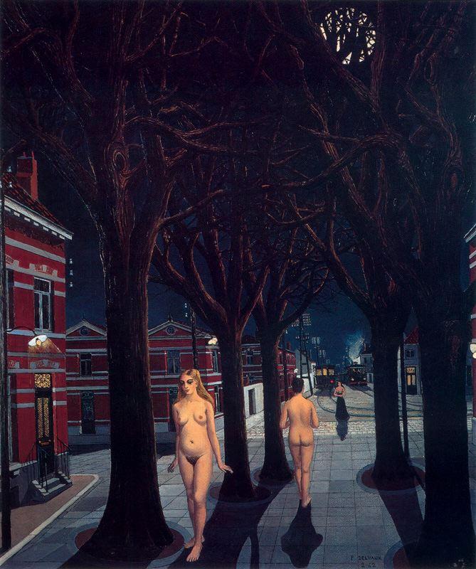peinture:  Paul Delvaux