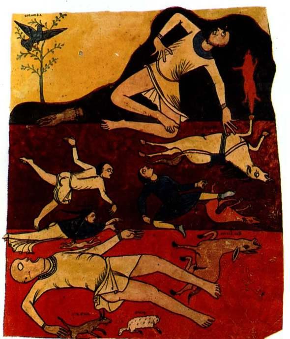 La fin des temps et le déchaînenement du mal ( manuscrit de l'Apocalypse)
