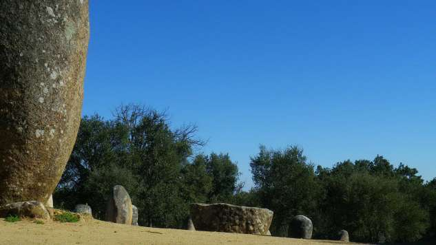 photo perso:  Cromlech  de Guadalupe - Evora - Portugal
