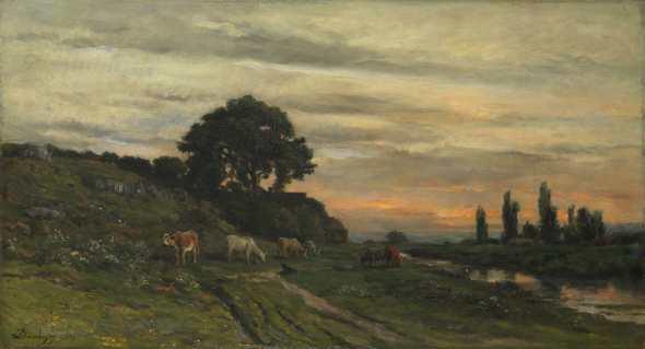 peinture  Ch-Fr  Daubigny