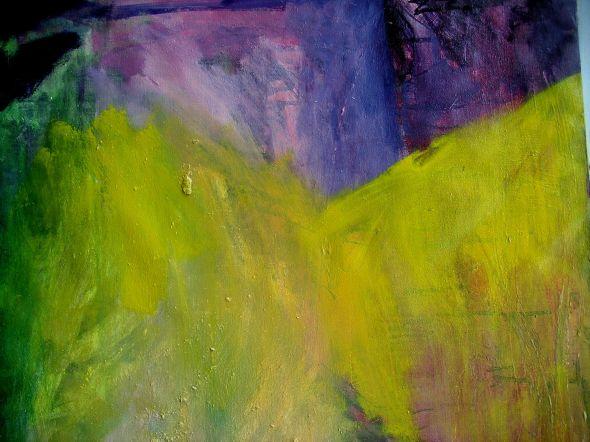 peinture  en cours  2012  06