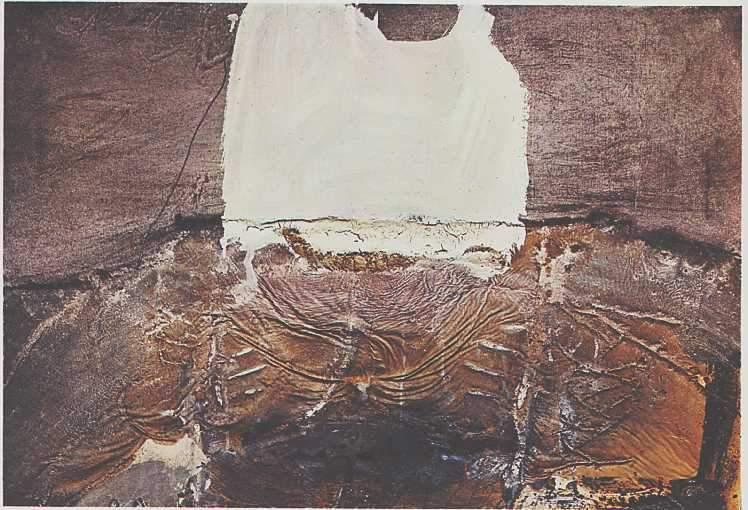peinture: Antoni Tapiès