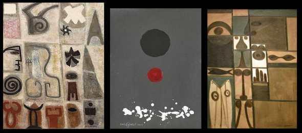 peintures: Adolf  Gottlieb