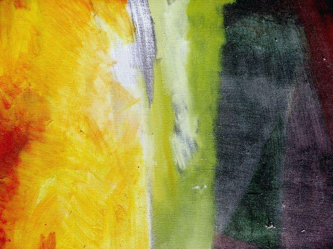 peinture perso -  In a sentimental Mood  (  détail ) - 2001