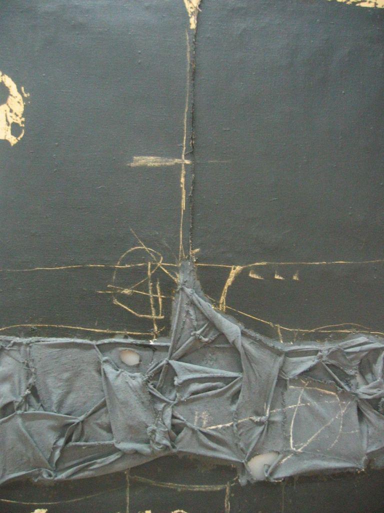peinture: Antoni Tàpies