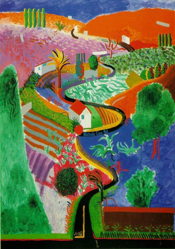 peinture: David Hockney -
