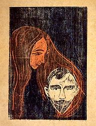 gravure: Edv Munch   1896
