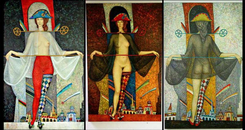 peinture:  Volodia Popov