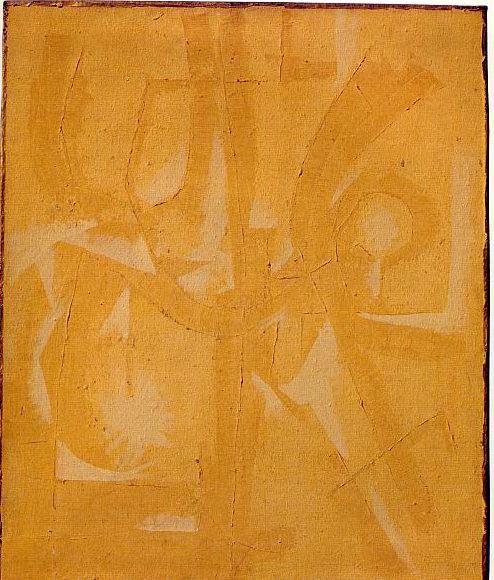 peinture: Jef Vereyen   monochrome  achrome  1958