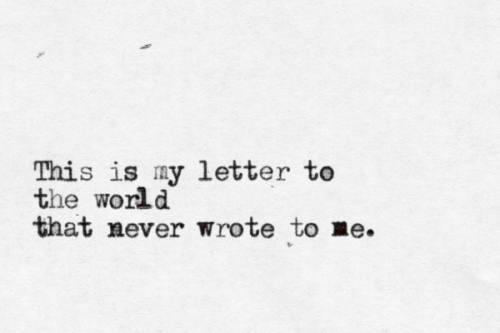 E Dickinson letter
