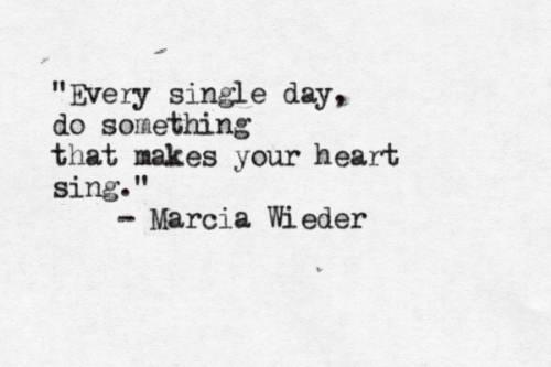 marcia Wieder every single day