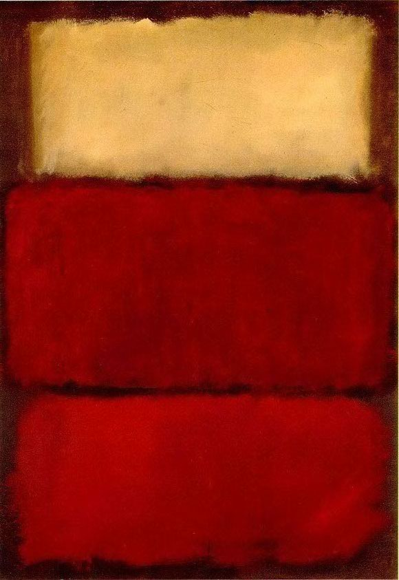 peinture M Rothko untitled red 1964